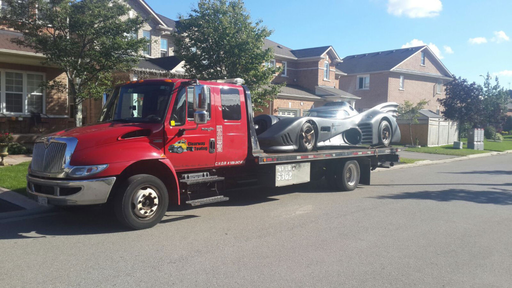 Batmobile Towing in Calgary